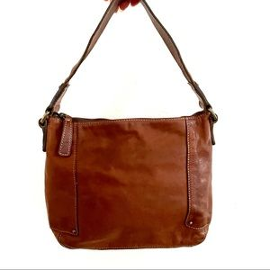 Banana Republic leather hobo